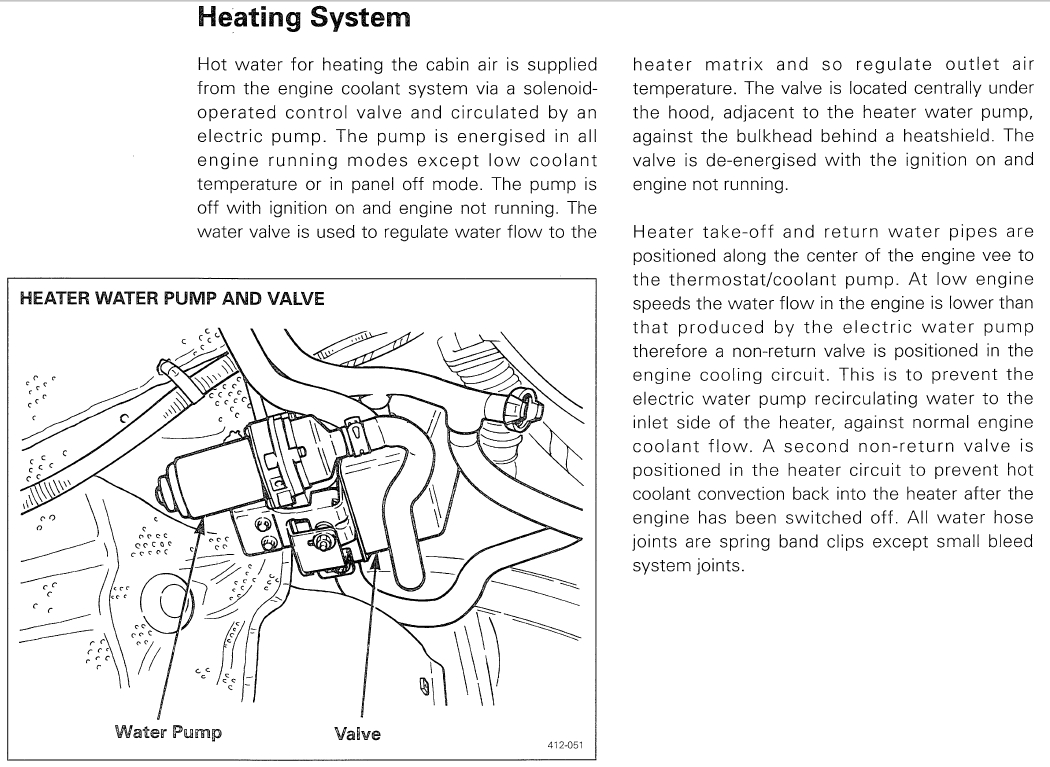 Jaguar Repair Information Resource Rover Engine Cooling Diagram