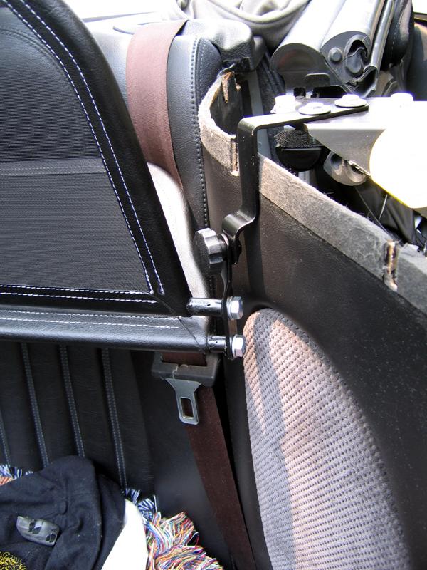 Manual Jaguar XK8 X100 Deflector de Viento//windstop Kit de reparación /> Tela Malla